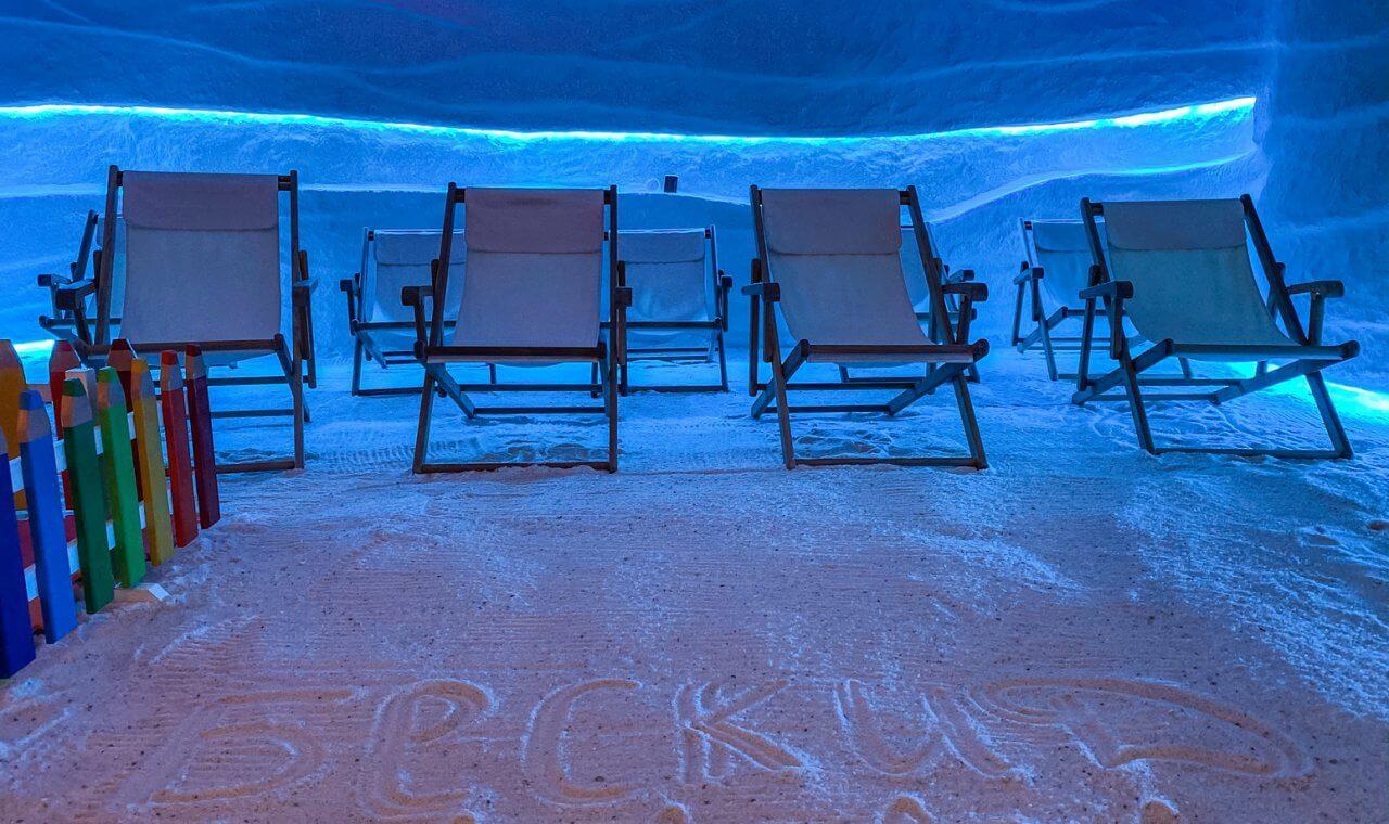соляна печера СПА курорту Бескид на прикарпатті