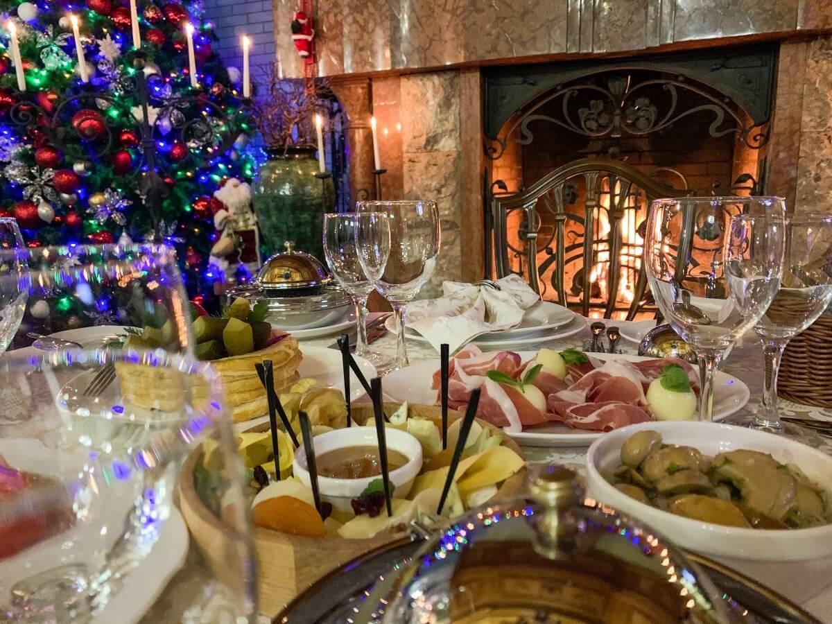 ресторан бескид, новорічне меню у бескид